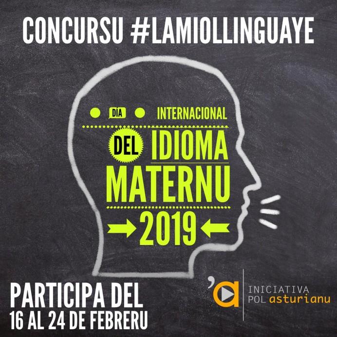 Iniciativa pol Asturianu entama un concursu baxo'l títulu de #lamiollinguaye