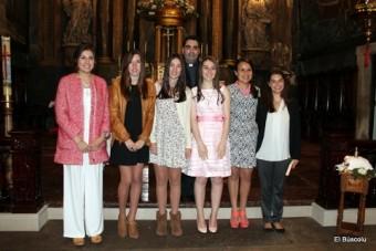 Confirmaciones en la parroquia de Lastres