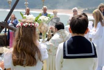 Lastres celebró el Corpus Christi