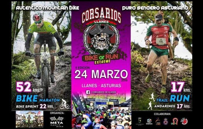 Corsarios de Llanes Bike or Run Extreme, segunda edición
