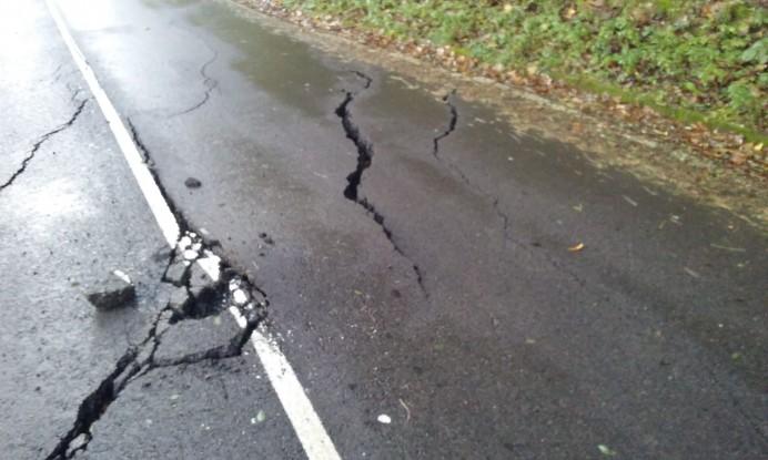 Cerrada a la circulación la carretera entre Lastres y Colunga (Actualizada)