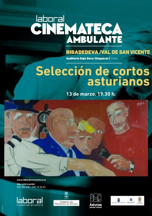 Vuleve Laboral Cinemateca Ambulante con una selección de cortos asturianos