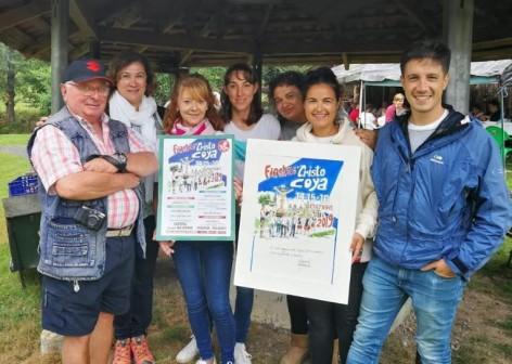 Valentín del Fresno diseña el Cartel de las Fiestas de Coya 2019
