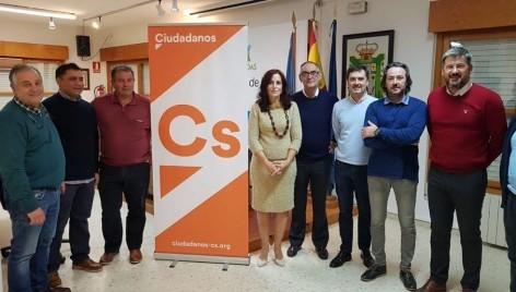 Presentación nueva Junta Directiva Ciudadanos - C´s. Agrupación de Parres (Asturias)