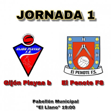 Debut del Penote FS contra el Gijón Playas B