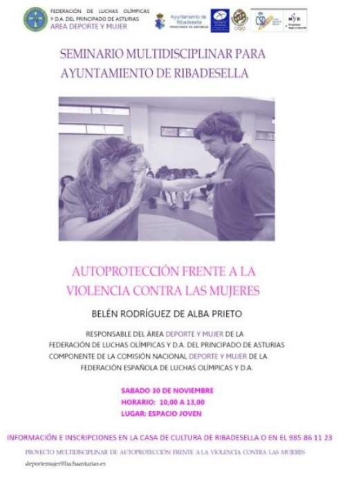 La concejalía de Deportes del Ayuntamiento de Ribadesella organiza un taller gratuito de autoprotección para mujeres