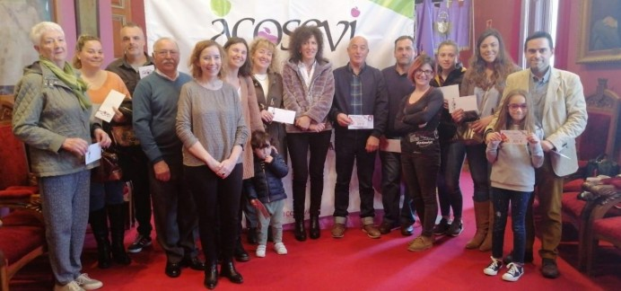 Acosevi pone el broche al sorteo de los 4000 euros
