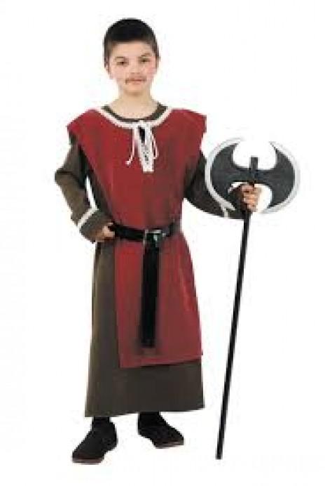 Disfraces medievales en el Centro del Prerrománico Asturiano