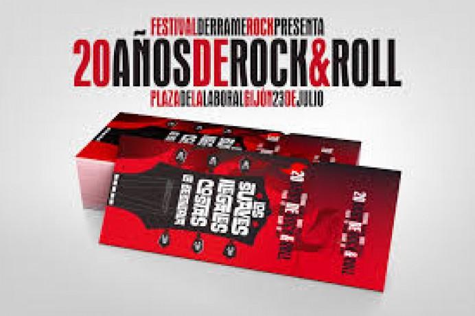 Concierto Festival Derrame Rock: 20 años de Rock&Roll