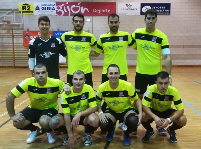 El Penote FS debuta con empate en Gijón