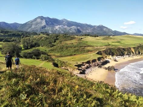 Ruta entreplayas: Arenal de Morís - La Griega