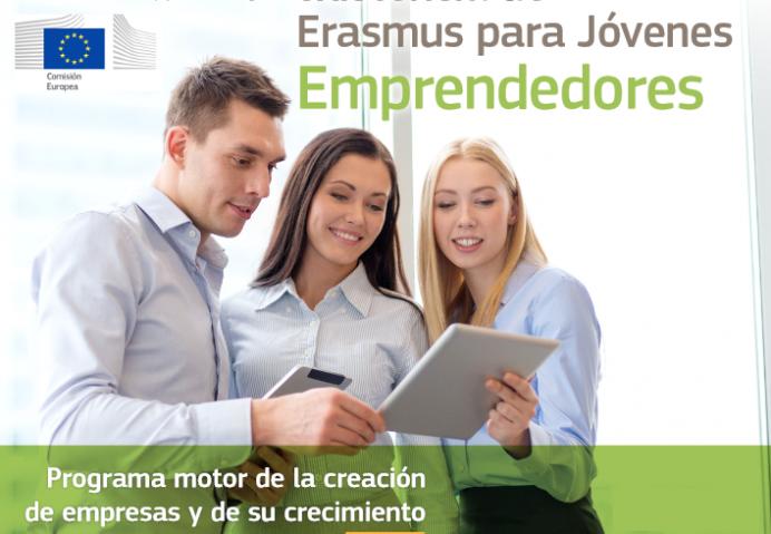 Presentación en Villaviciosa de Erasmus Emprendedores