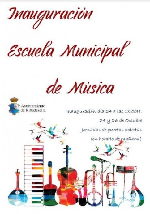 Inauguración escuela de música de Ribadesella