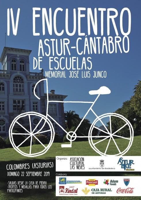 IV Encuentro Astur-Cántabro de Escuelas de Ciclismo. Memorial José Luis Junco.