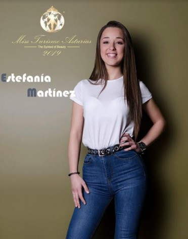 Estefanía Martínez candidata a Miss Turismo Asturias
