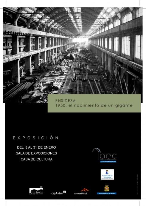 EXPOSICIÓN: ENSIDESA 1950. EL NACIMIENTO DE UN GIGANTE.