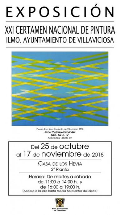 EXPOSICIÓN XXI CERTAMEN NACIONAL DE PINTURA