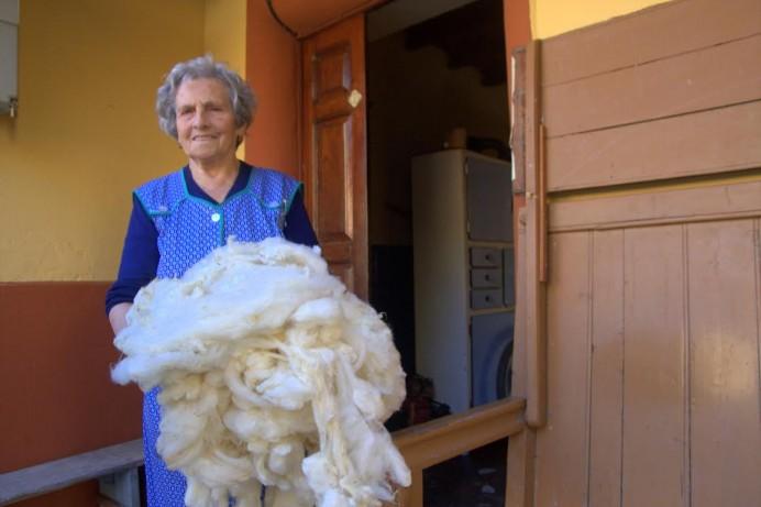Exposición El camin de las lanas en Santa Eulalia de Cabranes