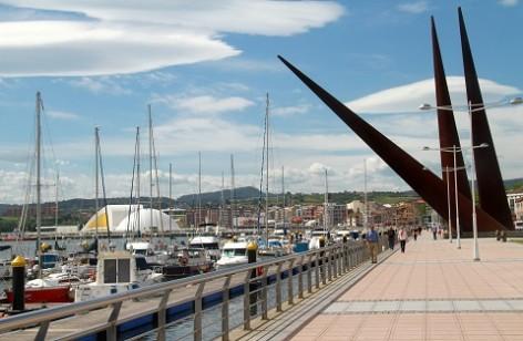 Webcam Avilés: Ría y Niemeyer