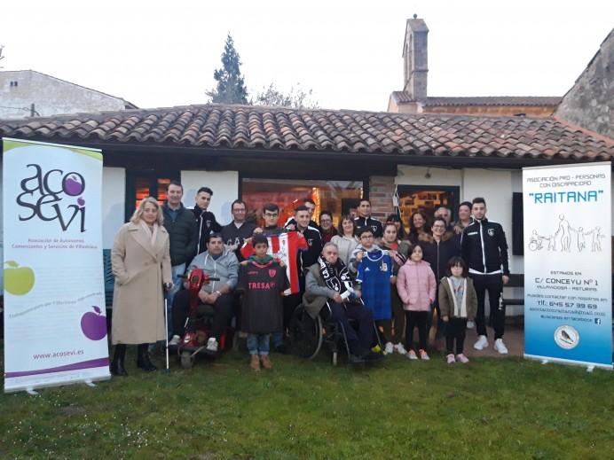 Acosevi y Raitana ponen el broche a un Febrero Solidario cuya recaudación asciende a 800 euros