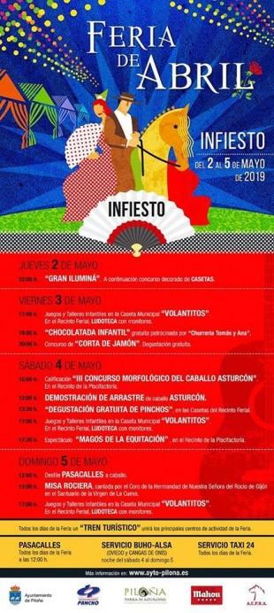 Feria de abril de Infiesto 2019