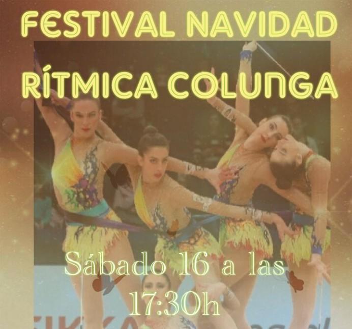 Festival de Navidad de Rítmica en Colunga