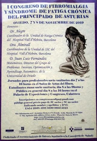 Se celebra en Oviedo el I Congreso de Fibromialgia y Fatiga Crónica