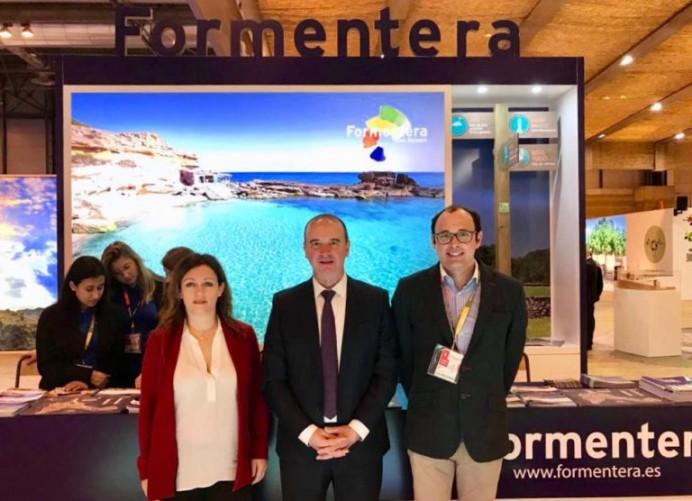 La hermosa isla balear de Formentera promocionó en Fitur su gastronomía, patrimonio y naturaleza.