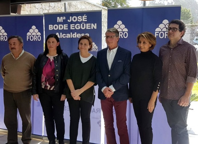 María José Bode candidata de FORO Ribadesella