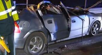 Tres heridos en un accidente de circulación en Nava
