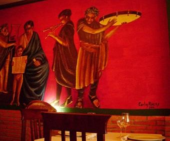 Carlos Roces: Los frescos de La Casa Pompeyana