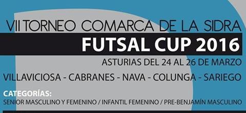 VII Torneo Comarca de la Sidra FUTSAL CUP 2016