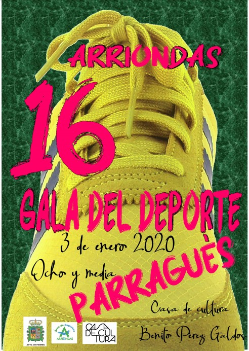 Abierto el plazo de presentación de candidaturas para la XVI Gala del Deporte de Parres.