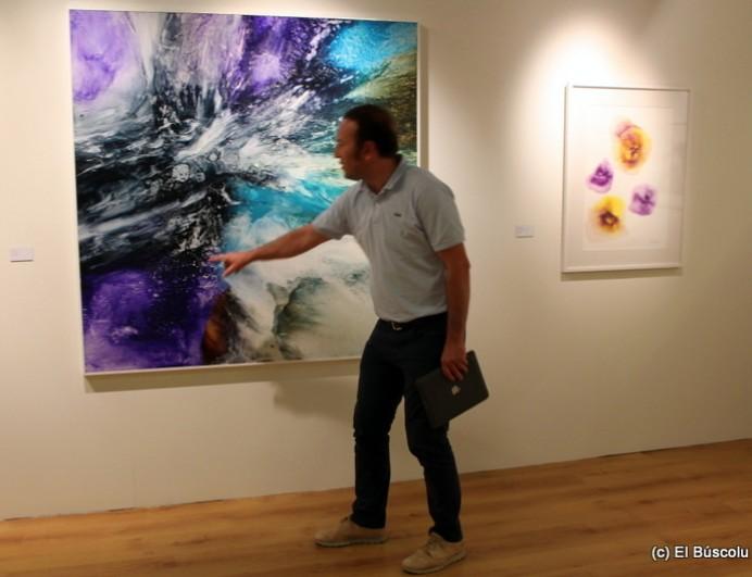Conferencia y exposición de Guillermo Simón en la Fundación Cardín de Villaviciosa