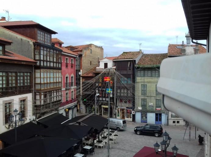 Nueva cámara HD desde la Plaza Parres Sobrino en Llanes