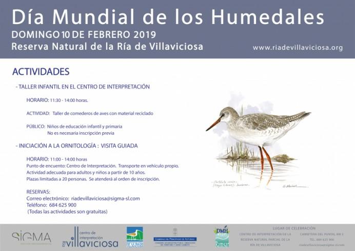 Día de los Humedales en Villaviciosa