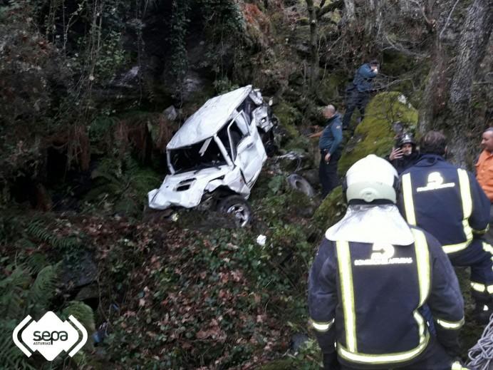 Un muerto en accidente de tráfico en Ibias