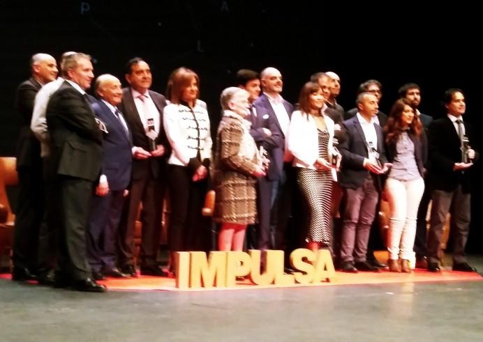 Entrega de premios XV Premios Impulsa en Gijón