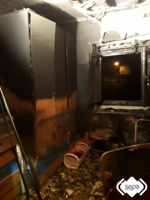Incendio en Piloña