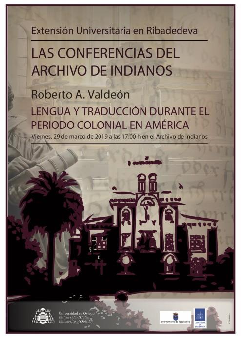 Vuelven las Conferencias del Archivo de Indianos.