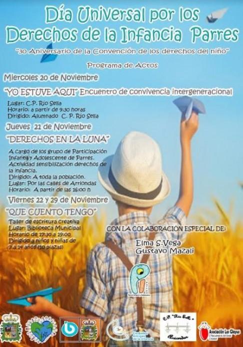 Parres celebra el 30 aniversario de la Convención de los Derechos del Niño