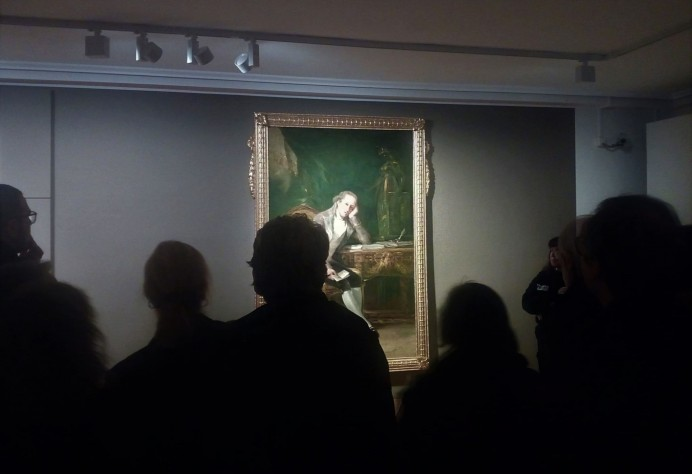 Manuela Mena acerca a los gijoneses la figura de Jovellanos a través de las pinceladas de Goya