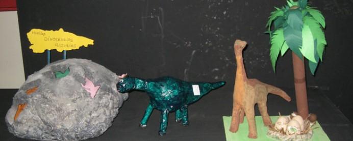 El MUJA entrega este jueves los premios del concurso escolar Construye tu dinosaurio