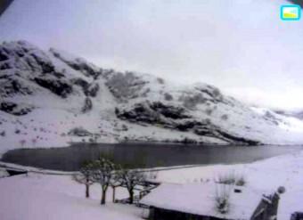 Nieve en Asturias: Imágenes en directo desde webcams de Asturias