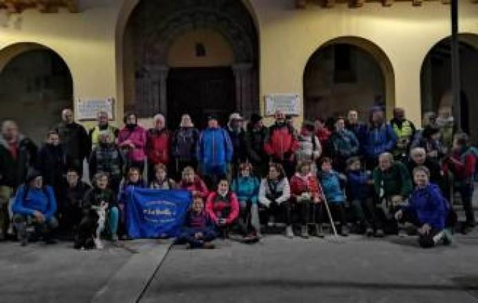 La Huella completará este sábado la III etapa del Camino de Santiago