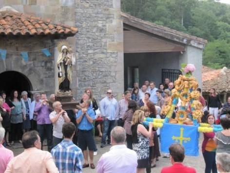 Un bilbaino busca a sus antepasados en el concejo de Colunga, principalmente en La Riera