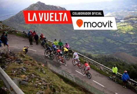 La Vuelta y Moovit informan sobre el uso del transporte público en Asturias