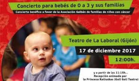 El teatro de la laboral acoge un concierto para beb s y for Teatro de la laboral
