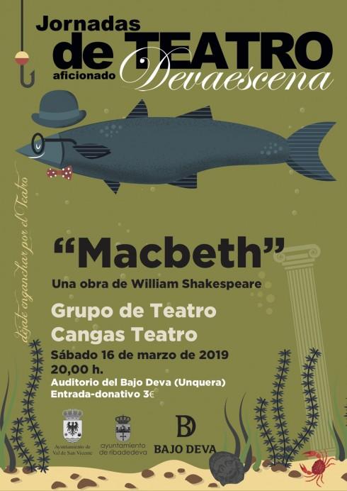 Devaescena concluye el 16 de marzo con Macbeth