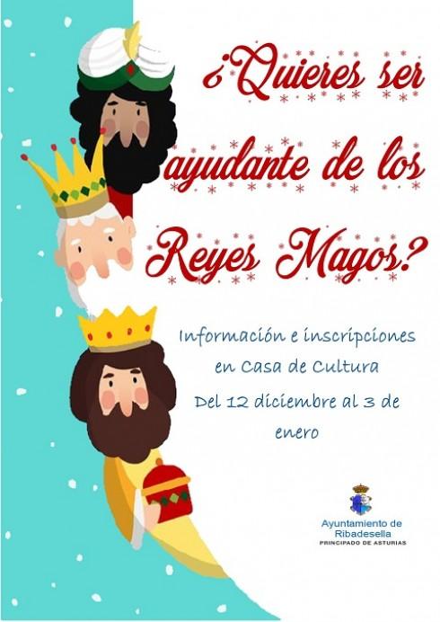 ¿Quieres participar en la Cabalgata de los Reyes Magos?